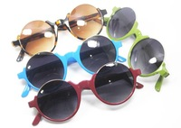 Oval sunglasses mixed colors free shipping