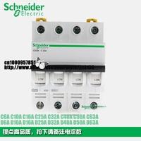 Schneider Multi9 miniature circuit breaker iC65  iC65N 4P C2A C6A C10A C16A C20A  C25A C32A C40A C63A