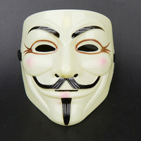 New V Mask For Vendetta Anonymous Movie Guy Fawkes Vendetta  Halloween Cosplay AE00222
