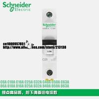 Schneider Multi9 miniature circuit breaker iC65  iC65N 1P D2A D6A D10A D16A D20A  D25A D32A D40A D63A