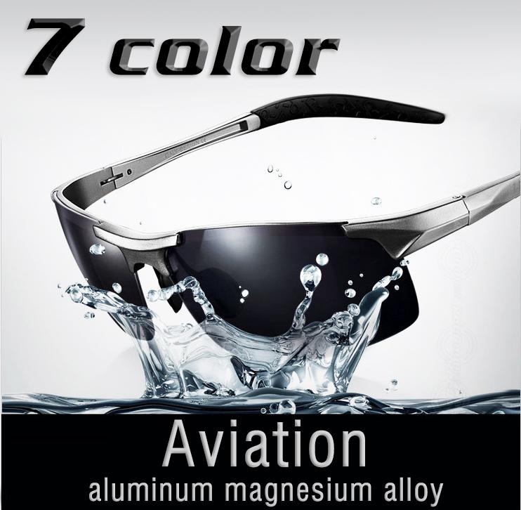 2014 New Fashion Summer Aluminum Magnesium Sunglasses Polarized Men Brand Designer Sport Male Sun Glasses Drving Oculos Gafas(China (Mainland))