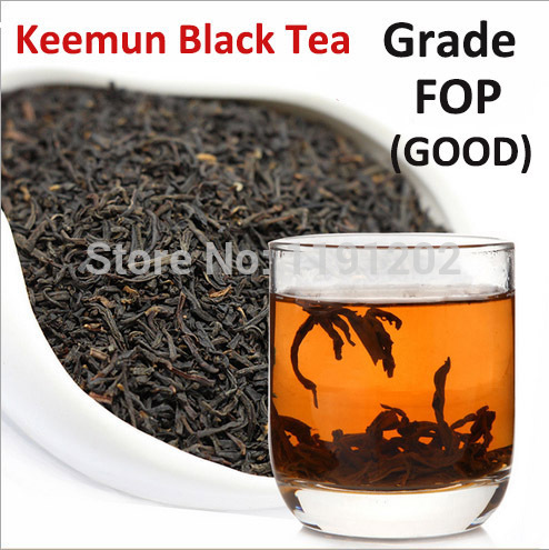 Grade FOP Free shipping Good Quality Class Keemun Black Tea Organic tea Warm stomach the chinese