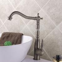 2014 Latest Bronze Finish Antique Design Single Handle Brass Kitchen Long Neck Mixer Water Tap