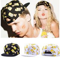 snapback hat for man and woman hip hop cap retail&wholesale hat 100%COTTON baseball cap Simpsons cartoon cheap strapbacks