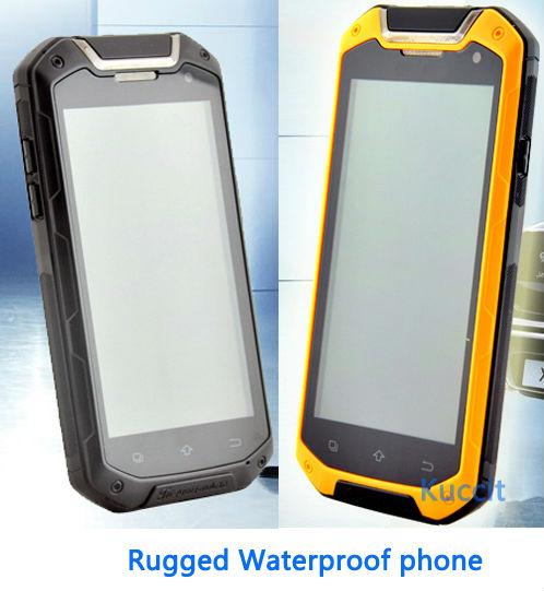 Big Gift original MTK6589T Quad Core jaguar v12 IP67 rugged Android Smartphone Waterproof phone GPS 3G cell phones M8 A9 V3(China (Mainland))