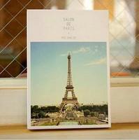 128pcs=4set Scenery style postcard rhythm of life/Birthday Card/Greeting Card/Gift Card/Fashion Gift