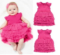 Free shipping hot summer stylish and comfortable design solid models female baby dress