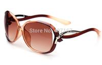Female sunglasses star style fashion sunglasses 2014 anti-uv large-framed glasses large sunglasses