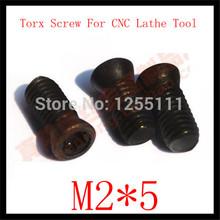 50pcs M2x 5 Insert Torx Screw for Replaces Carbide Inserts CNC Lathe Tool