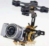 Brushless motor kit 3-axis gimbal aerial PTZ + ALEXMOS V2.3B controller