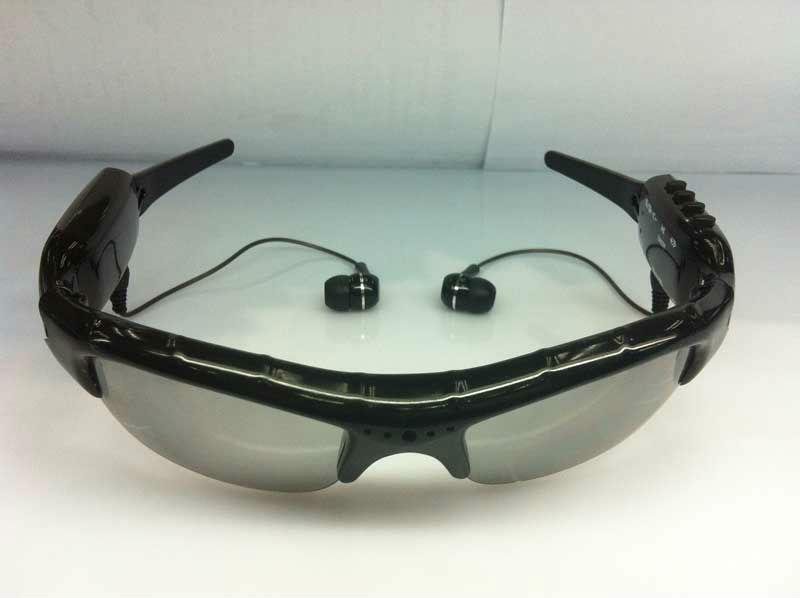 Mini DV DVR sunglasses with camera mp3 player Camera Audio Video Recorder 1Pcs/Lot(China (Mainland))