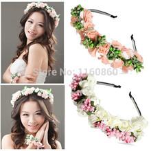 white flower headband price
