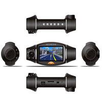 Dual Lens Car Camera Two Lens Vehicle DVR Dash Recorder GPS G-sensor CA365 X8000