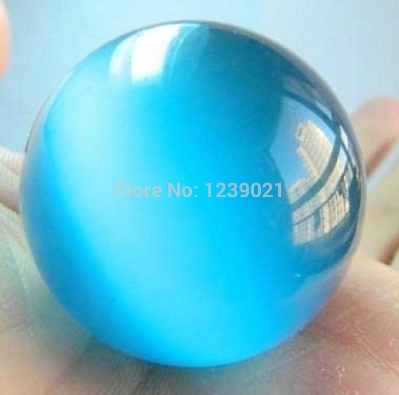 Spedizione gratuita nuovo calore naturale 40mm blu messicano sfera opale, sfera di cristallo/diaspro sp013