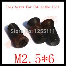50pcs M2x 8 Insert Torx Screw for Replaces Carbide Inserts CNC Lathe Tool