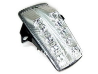 Motorcycle Chrome LED Tail Light Turn Signal Clear For Suzuki 03-2007 SV1000 03-08 SV650