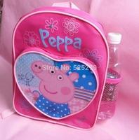 2014 New type peppa pig children's school bags kids backpacks peppa pig school bag Backpack
