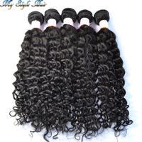 4A grade cuticle intact mongolian afro kinky curly virgin hair mixed length 5pcs/lot,100% unprocessed human hair weave bundles