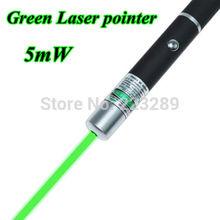 Venta caliente Gran Potente puntero láser verde viga de la pluma Luz 5mW profesional de alta potencia del laser(China (Mainland))