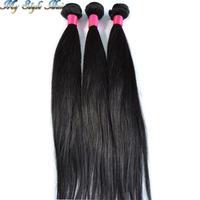 Brazilian Virgin Hair Extension Straight Human Hair weaves 2pcs lot Grade 4A Top Quality Bundles,Royal Queen Rosa Hair Products