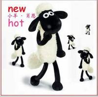 2014 new Shaun  Lamb Plush dolls,cute shaun plush stuffed toy for children 25cm