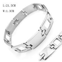 2014 New Fashion MAN Bracelets Stainless Steel Biker Jewelry Clasp Watch Band Bracelets For Men W:1.3CM L21.5CM