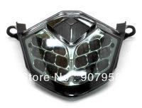 Motorcycle For Kawasaki 2008-10 ZX-10R Chrome LED Tail Light Turn Signal Smoke 2009-11 ZX-6R
