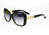 Freeshipping High-Statement 2014 Evoke Women's Square Vintage Sunglasses Designer Bold Gold Arms Frame Oculos sg231