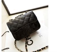 free shipping women's handbag Black with Gold Hardware chain Brand  Bag ladies shoulder Bags