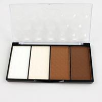 New Arrival Palette Comestic Make Up 4 Color Shading Highlight Shadow Concealer Bronzer