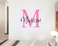 Custom Personalized Name girls/boys - Say Quote Word Lettering Art Vinyl Sticker Decal Home Decor Words