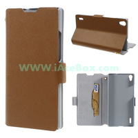 for Huawei Ascend P7 ,for Huawei Ascend P7 Doormoon Genuine Leather Card Holder Case Free shipping