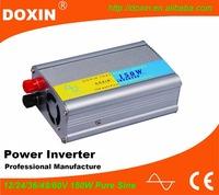 150W Pure Sine Wave Power Voltage Coverter intelligent dc/ac power inverter