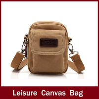 free shipping  2014 new hot sell promotion mens canvas bag,canvas shoulder bag ,fashion leisure canvas duffle bag for travel