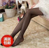 Free Shipping spring and summer pantyhose ultra-thin Core-spun Yarn silk pantyhose stockings women's transparent sexy pantyhose