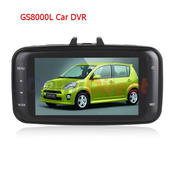 GS8000L DVR Original Novatek Full HD1080P Video Recorder 2.7 inch LCD Car Dvrs HDMI G-Sensor Night Vision Video Registrator