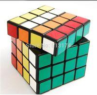 ShengShou Spring Speed Professional Magic Cubes 4x4x4   BLACK/White Twist Puzzle Cubes  free shipping