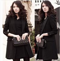 2014 NEW women girls lady blazer suit  slim Fashion style