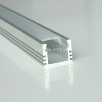 40m (20pcs) a lot, 2m per piece anodized LED aluminum profile for led strip light AP1612-2m