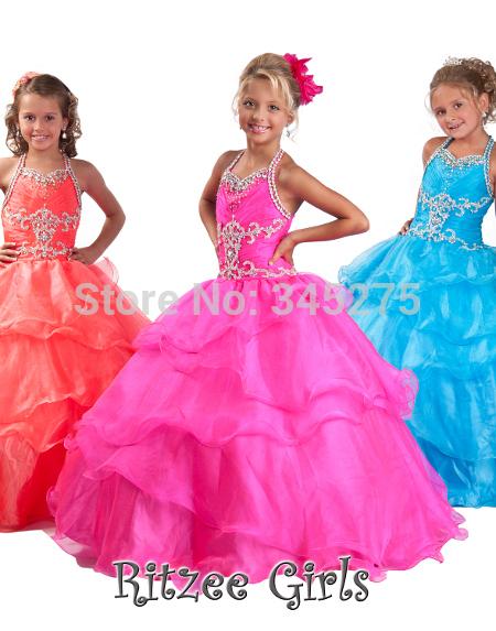 Детское платье ToBeBridal Ritzee WF9976
