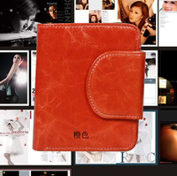 Women Wallet Korean version of the new 2014 Ms. wallet leather wallet female models fold leather wallet women