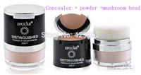 EFOLAR  distinguished esence oh natural minerals 2 in1 concealer powder mushroom head with mackup mirror