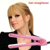 straighteners hair stick straight dual volume control electric splint straight bangs clip not hurt  hair clip hot ceramic corn