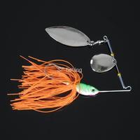 SF Hard Lure Blade Spinnerbaits  Skit Lure Jigs Hook for Bass Fishing 4/5 oz
