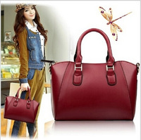 2014 the European and American  bag leather shell female bag euramerican fashion single shoulder bag