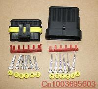 1 sets Wire Connector Plug 6 Pins Waterproof Electrical Car Motorcycle HID ATV