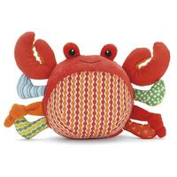 Baby nursery plush toy, good quality kids crab chime ball, SKP nursery toys, bells inside