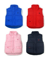 Hot selling 1pcs New 2014 autumn/winte girls and boys vest, children vest, waistcoats handsome vests ,wholesale Free