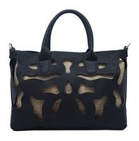 New 2014 Brand Lyshia Desigual Hollow Out Women Leather Handbag Original Fashion Women Shoulder Bag Tote FA6104