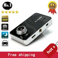 "K6000  Car Dvr Camera Video Recorder 1920*1080P Full HD 2.7"" HD Screen 30FPS G-Sensor Night Vision Super wide Angle WITH HDMI"